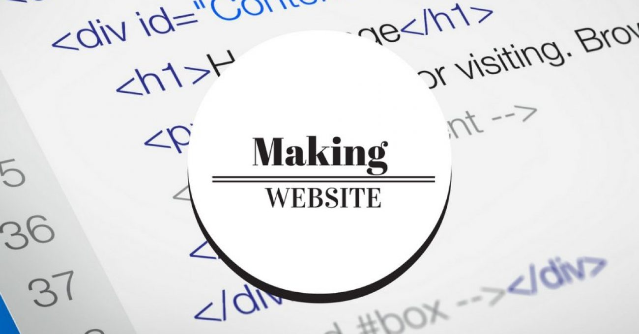 making-a-website